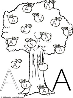 Letter Aa Worksheets Worksheets for all | Download and Share ...