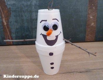 Olaf der schneemann kindersuppe abo - Schneemann olaf basteln ...
