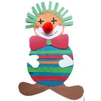 Projekt zirkus kindergarten und kita ideen - Clown basteln kindergarten ...