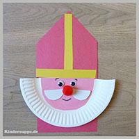 St nikolaus kindergarten und kita basteln und spiel ideen - Basteln zu nikolaus im kindergarten ...