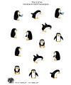 pinguin basteln lernen arbeitsbl tter f r kindergarten. Black Bedroom Furniture Sets. Home Design Ideas