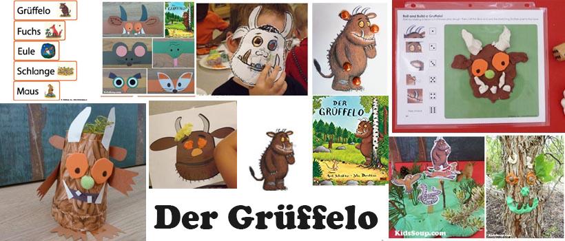 Der Grüffelo Ideen und Spiele für Kindergarten und Kita
