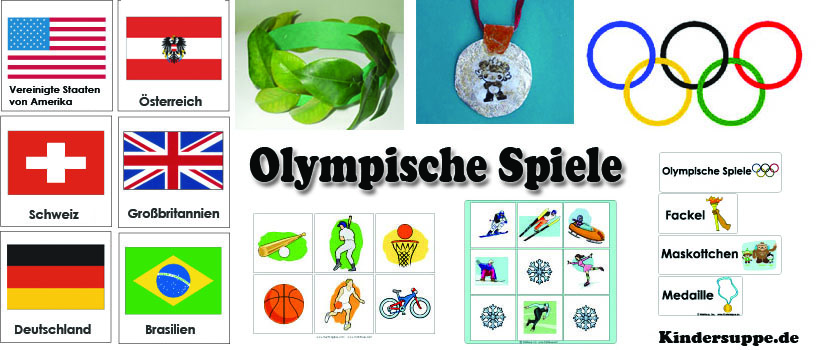 projekt olympische spiele kindergarten und kita ideen. Black Bedroom Furniture Sets. Home Design Ideas