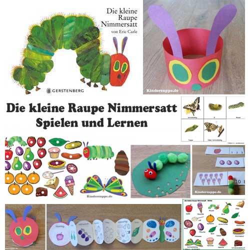 Projekt schmetterling und raupe kindergarten und kita ideen - Angebote kindergarten sommer ...
