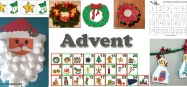 Advent und Adventskalender Ideen fur Kindergarten und Kita