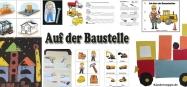 Kindergarten Projekt auf der Baustelle Ideen Basteln und Spielen