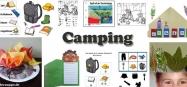 Kindergarten Projekt Camping Ideen zum Basteln und Spielen
