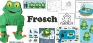 Projekt Frosch und Teich Kindergarten und KiTa Ideen