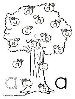 Finde den Buchstaben A   Kindersuppe ABO