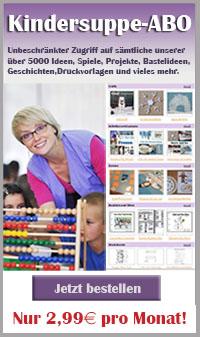 Kindersuppe-ABO Ideen für Kindergarten und Kita