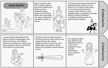 Sankt Martin Geschichte Lieder Und Ausmalbilder