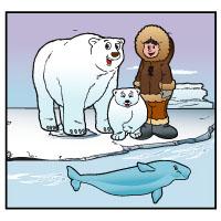 Projekt Eisbaer und Inuit Kindergarten und Kita-Ideen