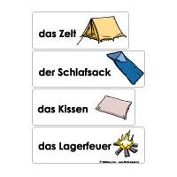 Projekt Camping Kindergarten und Kita Basteln und Spiel-Ideen