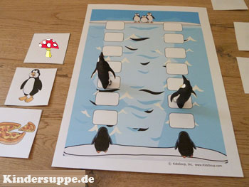 projekt pinguin kindergarten und kita ideen. Black Bedroom Furniture Sets. Home Design Ideas