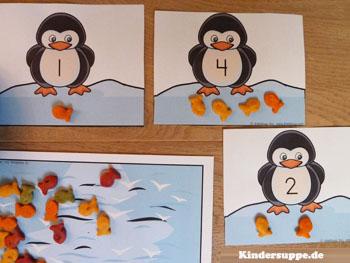 Projekt Pinguin Kindergarten und Kita-Ideen