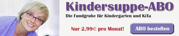 Kindersuppe-ABO bestellen Nur 2.99€ per Monat!