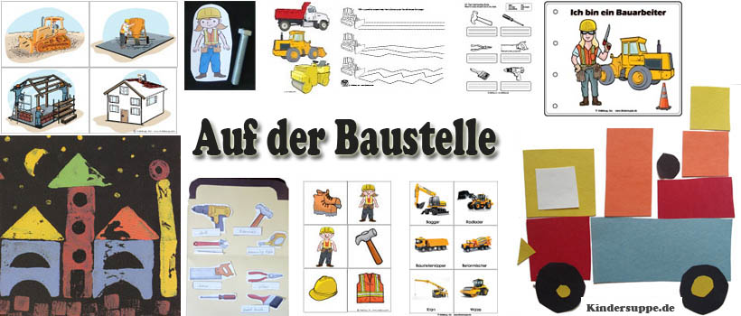 projekt auf der baustelle kindergarten und kita ideen. Black Bedroom Furniture Sets. Home Design Ideas