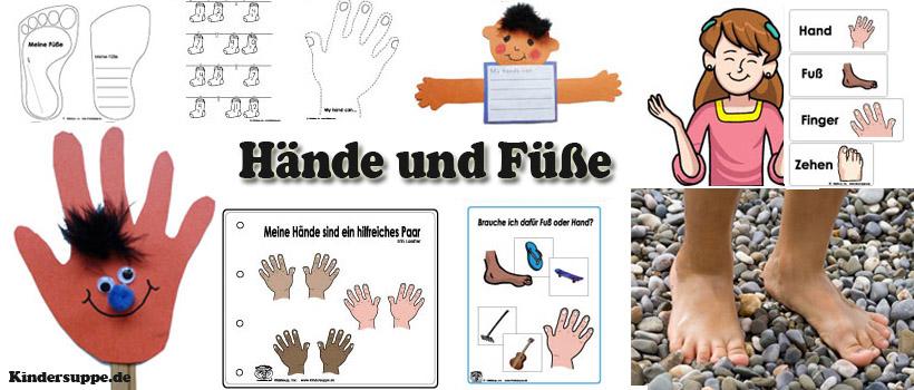 projekt hand und fuss kindergarten und kita ideen