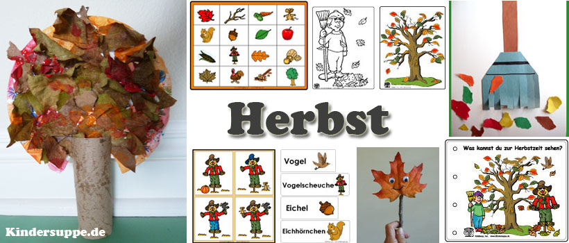 projekt herbst kindergarten und kita ideen. Black Bedroom Furniture Sets. Home Design Ideas