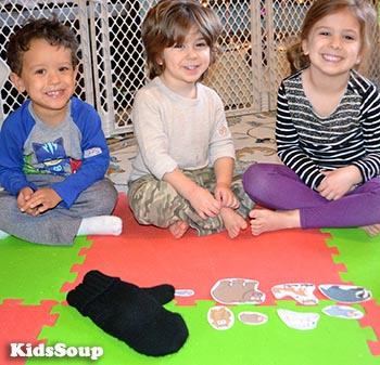 Der Handschuh - Lern und Kreisspiel für Kindergarten