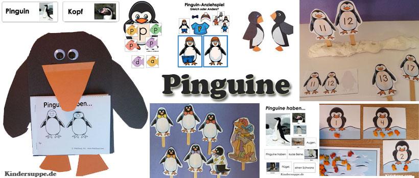 Projekt Pinguin Kindergarten Und Kita Ideen