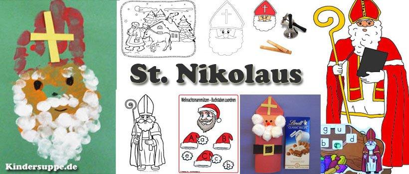 St Nikolaus Kindergarten und Kita Basteln und SpielIdeen