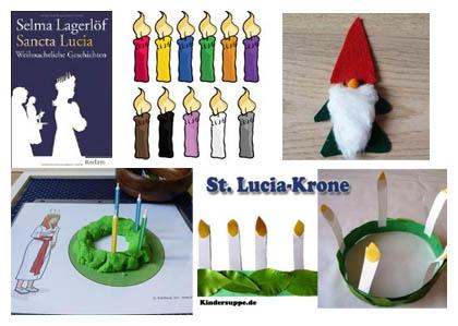 Weihnachten in Schweden - Ideen und Spiele fur Kindergarten und Kita