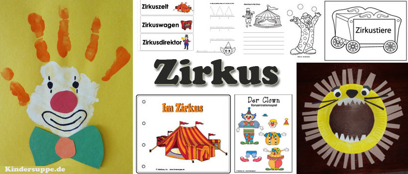 projekt zirkus kindergarten und kita ideen. Black Bedroom Furniture Sets. Home Design Ideas