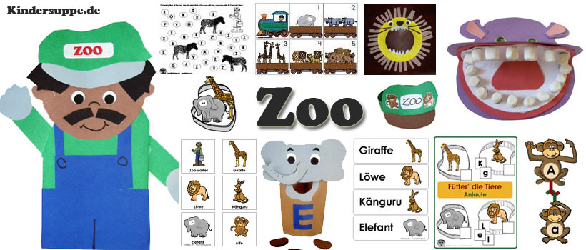 Projekt Zoo Kindergarten Und Kita Ideen