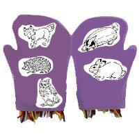 Der Handschuh-Bastelidee für Kindergarten und Kita