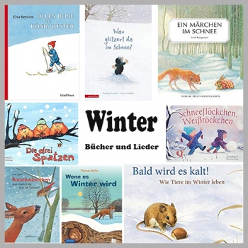 Bücher zum Them Winter für Kindergarten und Kita