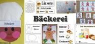 Projekt Bäcker und Brot -Ideen zum Basteln und Spiele fur Kindergarten und Kita