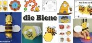 Bienen Kindergarten and Kita ideen, spiele, lieder, und basteln