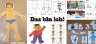 Projekt Das bin ich und mein Körper Ideen fur Kindergarten und Kita