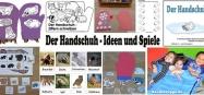 Handschuh und Tiere im Winter - Ideen und Spiele für Kita und Kindergarten