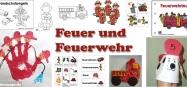 Kindergarten Projekt und Thema Feuerwehr und Kindergarten