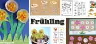 Projekt Frühling - Ideen zum Basteln und Spiele fur Kindergarten und Kita
