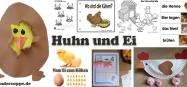 Projekt Huhn und Ei Basteln und Spiel-Ideen für Kindergarten und Kita
