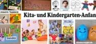 Kindergarten und Kita-Anfang Ideen und Spiele