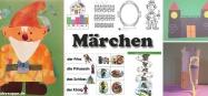 Märchen Kindergarten und Kita Projekt-Ideen und Spiele