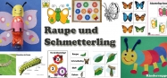 Projekt Raupe und Schmetterling Ideen fur Kindergarten und Kita