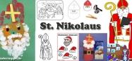 St. Nikolaus Ideen, Gedichte, Spiele für Kindergarten und Kita