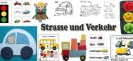 Kindergarten Projekt und Thema Strasse und Verkehr