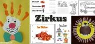 Projekt Zirkus Basteln und Spielen Ideen fuer Kindergarten und Kita